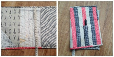 Finished book wrap project