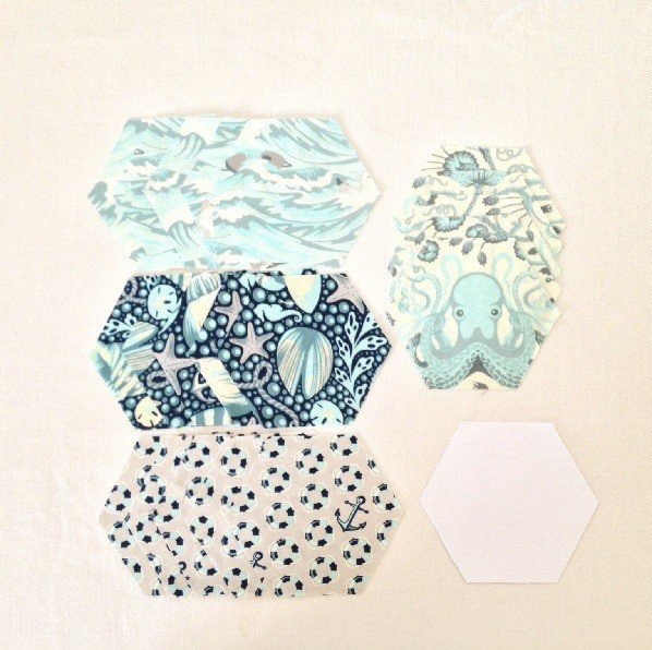 How to English Paper piece hexagons