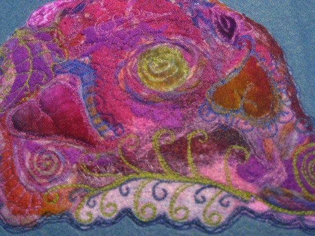 Beginners free machine embroidery