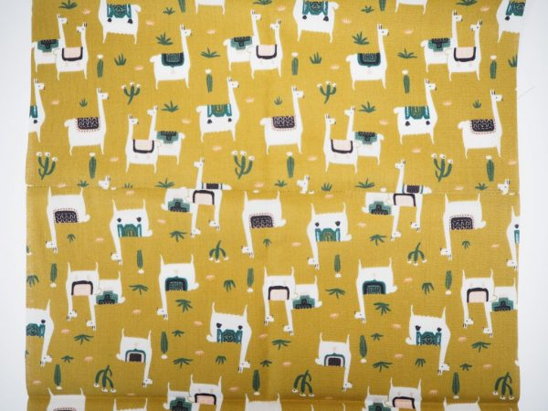 Work with directional fabric prints