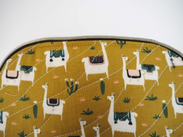 Neaten sewing with topstitch
