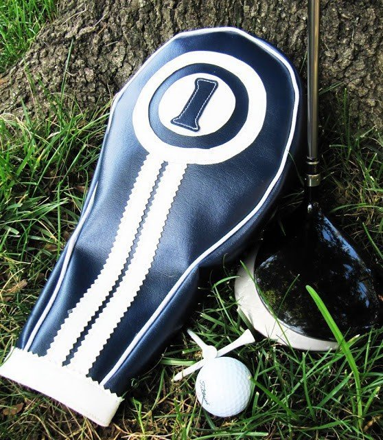 Make a golf club head cover