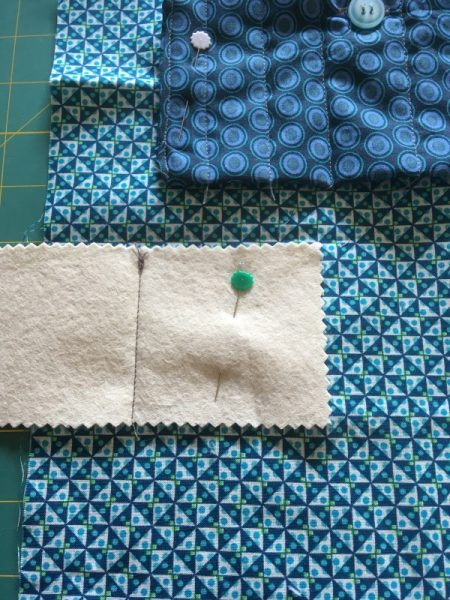 Making a needle book