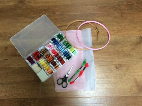 Materials for hand stitching
