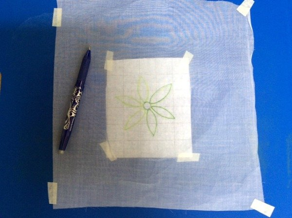 Transfer an embroidery design