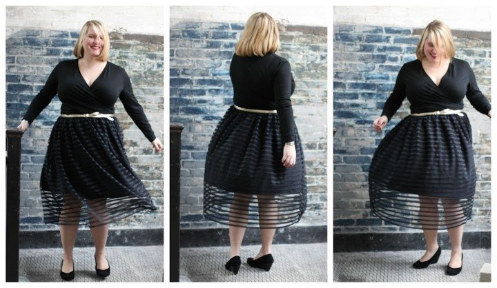 Flattering styles for the fuller figure