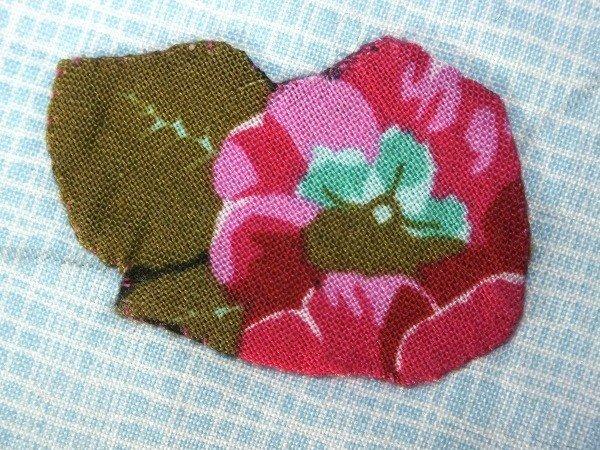 Blind stitch for applique