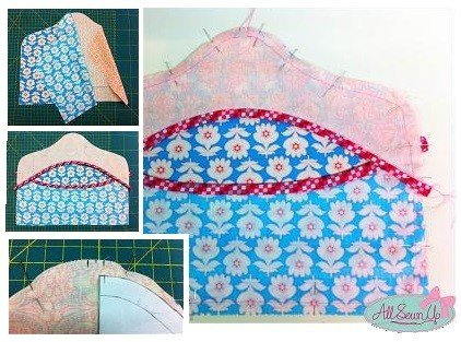 Make a peg bag from fat quarters