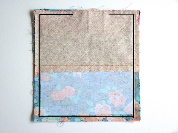 Sew a card and coin purse