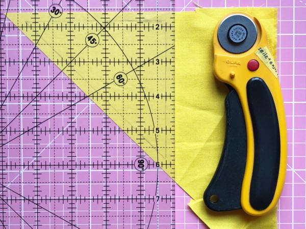Hand piecing curves