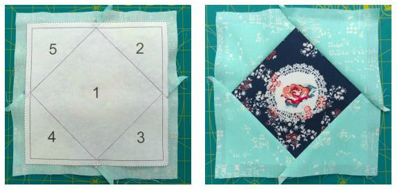 Foundation paper piecing for beginners