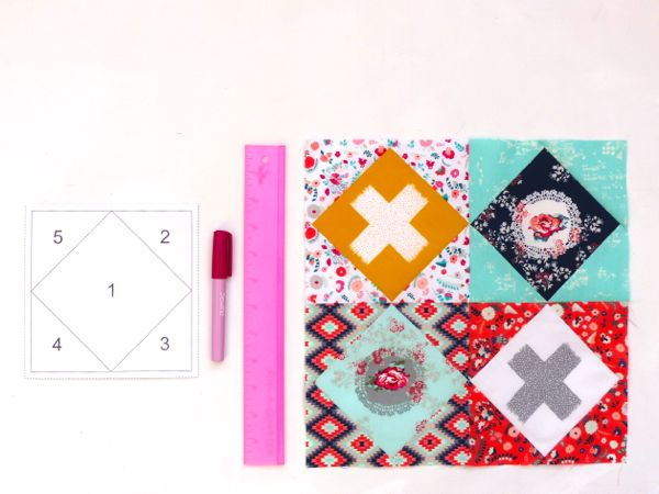 Supplies needed for foundation paper piecing