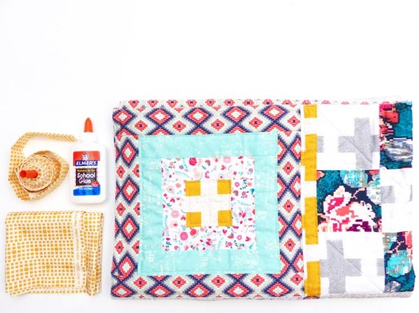 What equipment do you need to bind a quilt?