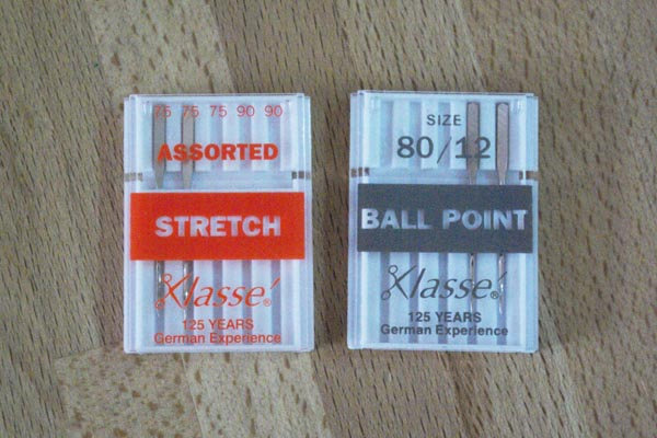 What needles should I use to sew jersey fabrics?