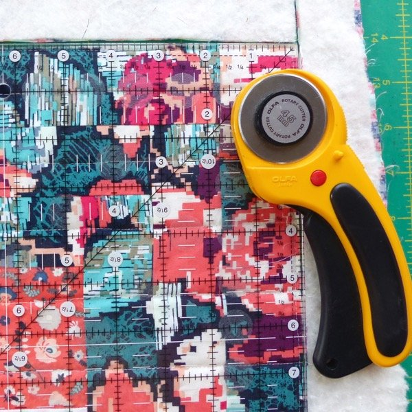 How to prepare a quilt for binding