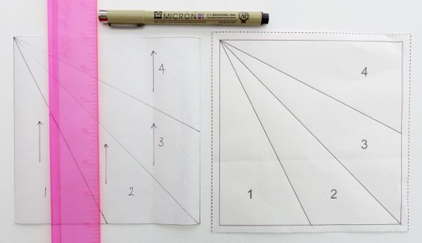 quilting with paper templates
