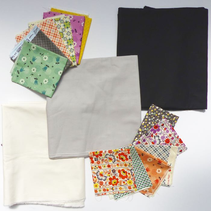 Creating a co-ordinated fabric palette for a quilt