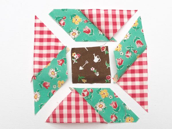 Y seams in patchwork