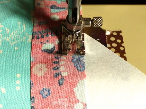How to make a string block quilt