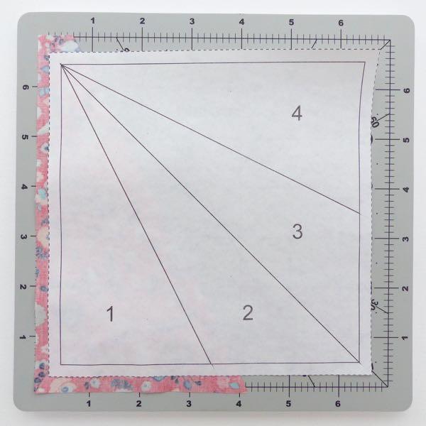 How to use foundation paper when quilting