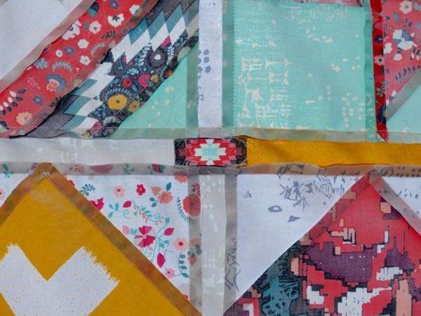 How to sew sashing on a quilt