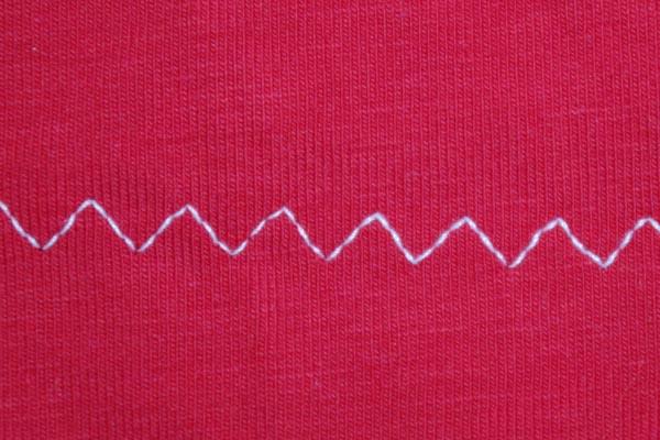 How to hem jersey fabrics