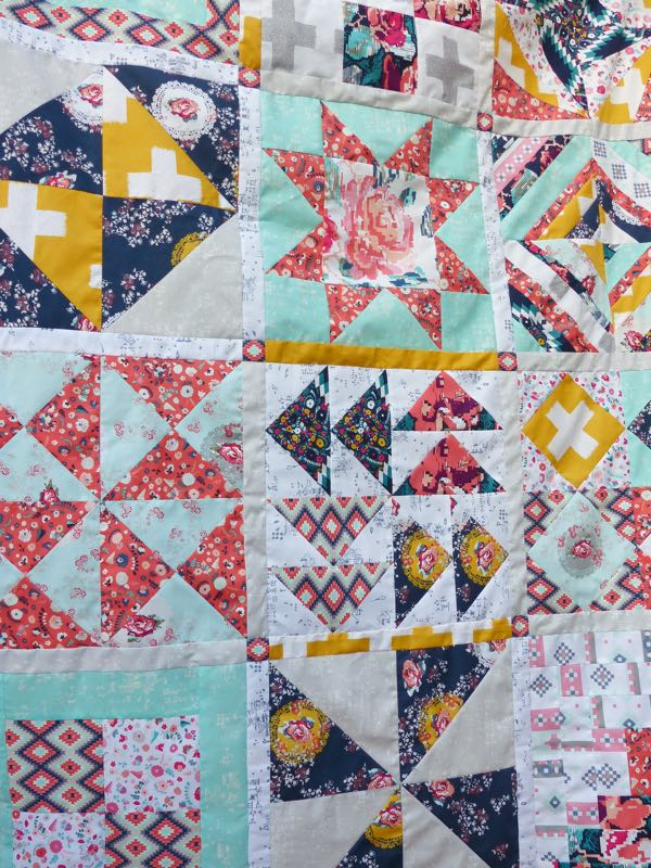How to finish your quilt top