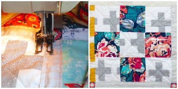 How to do walking foot quilting