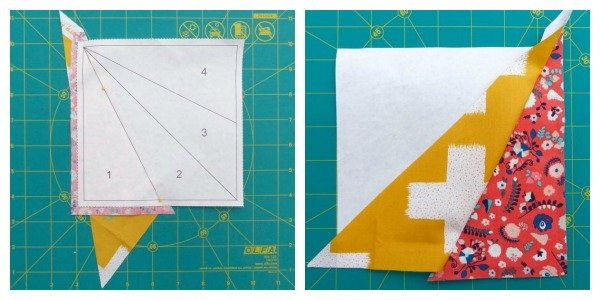 Basic foundation paper piecing