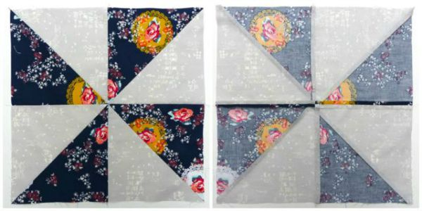 Quilt blocks you can make using half square triangle
