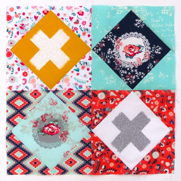 Learn how to sew an economy block using foundation paper piecing