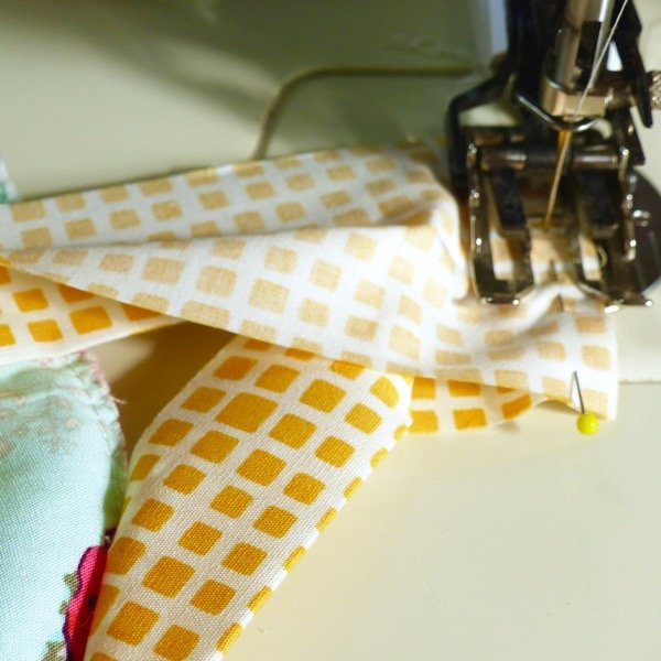 How to sew the join in quilt binding