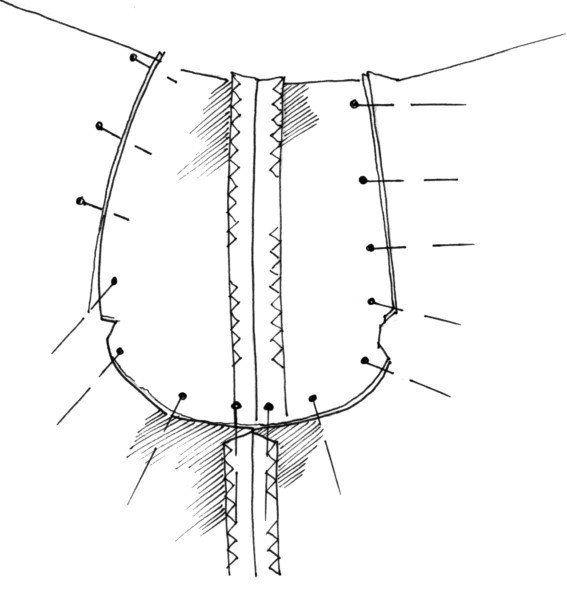 Instructions for raglan sleeves