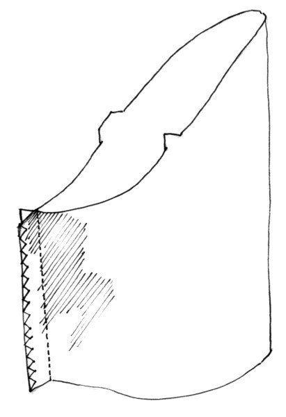 Set-in sleeves