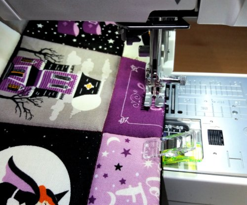 Topstitch for neatness