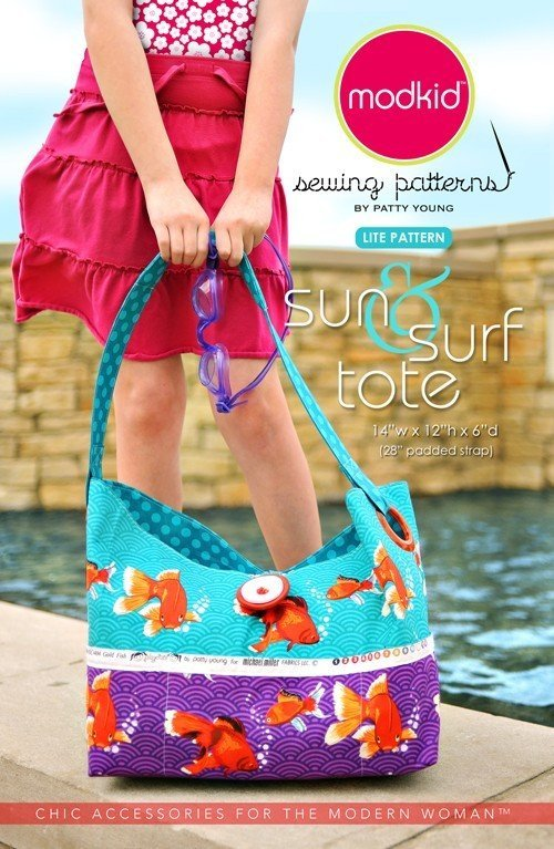 Buy a beach bag sewing pattern