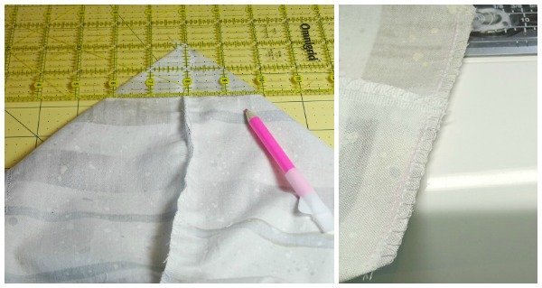 How to shape the bottom of a bag