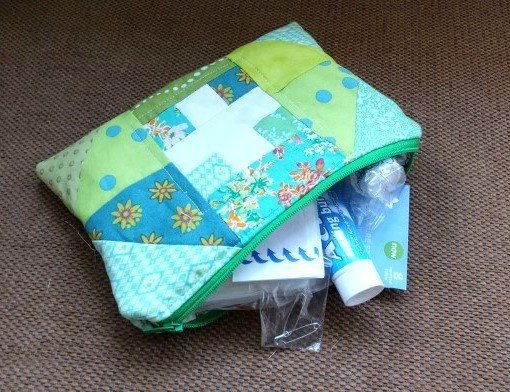 Sew a patchwork first aid case