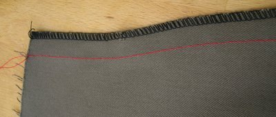 Adding zips to clothing