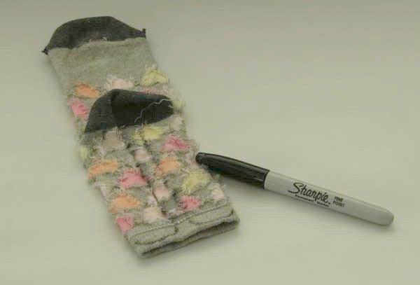 DIY sock toy