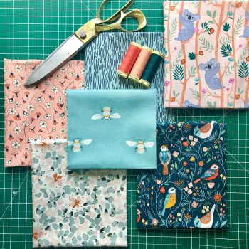 Selection of fabric bundles
