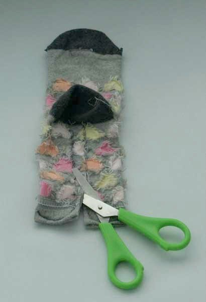 Make a monkey from a sock