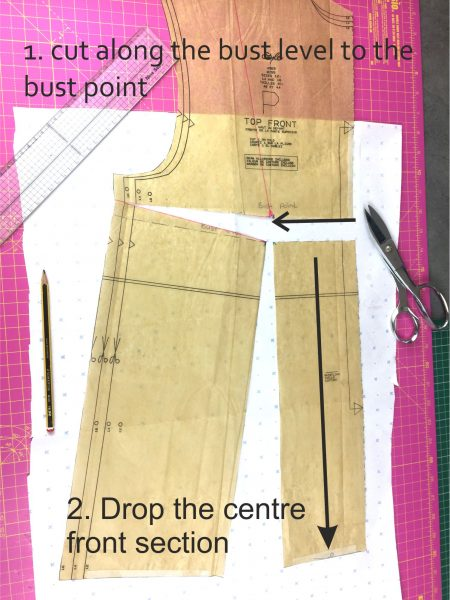 How do you alter a sewing pattern?