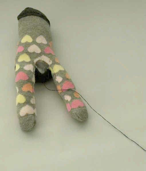 Cute sock animal to make