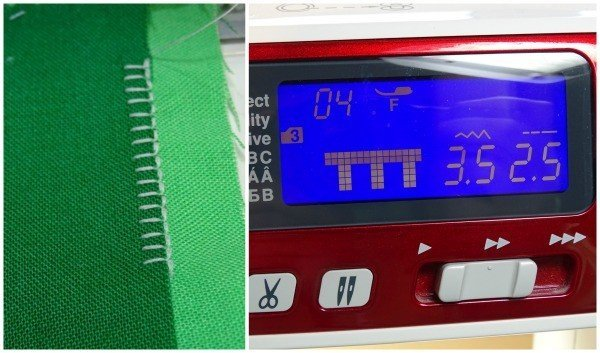 Finding the best applique stitch on your sewing machine