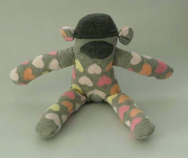 Sock monkey stuffed animal project free