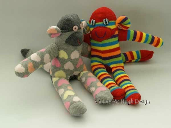 Free sock animal sewing pattern for beginners