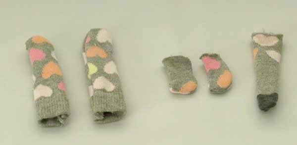 Instructions for sewing a sock monkey