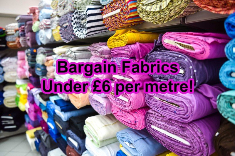 Where to buy cheap dressmaking fabric online