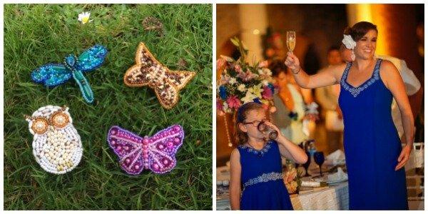 Examples of beadwork